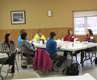 Leading Sibley County Together Meeting