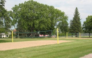 2 Sand Volleyball Courts